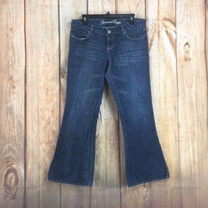 💸AEO   Real Flare Denim Jean Size 10